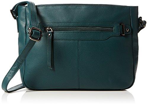 Hotter Women's Elsie Cross-Body Bag Green (Deep Teal)