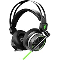 1MORE Gaming Headset, Over Ear Gaming Headphones With Noise Canceling Microphone and Customizable LED Display – Spearhead