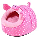 Wildgirl Pet Plush House Small Dog Cat Warm - Best Reviews Guide