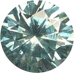 Tamaño del anillo Moissanite Diamond 0.70 Ct Moissanite Egl Certified Moissanite Certified Green Moissanite suelto