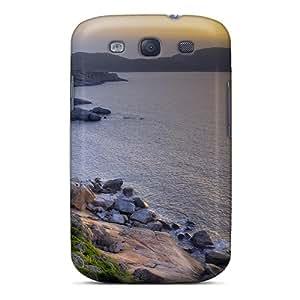 New UGGLQXf2054UwDJW Lake Sunrise Tpu Cover Case For Galaxy S3