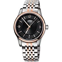Oris Classic Date Automatic Steel & Rose Gold Plated Mens Watch Date 733-7578-4334-MB