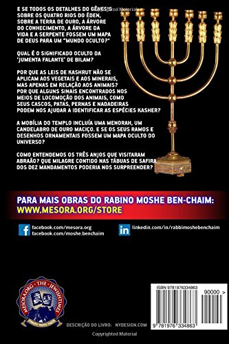 Segredos da Biblia (Portuguese Edition): Rab Moshe Ben-Chaim, Prof Joao M. Alves Correia: 9781976334863: Amazon.com: Books