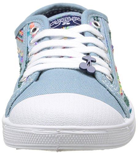 Zapatillas Des Azul Basic Mujer Hindie Temps Blue Cerises 02 LTC Le wCPqYP