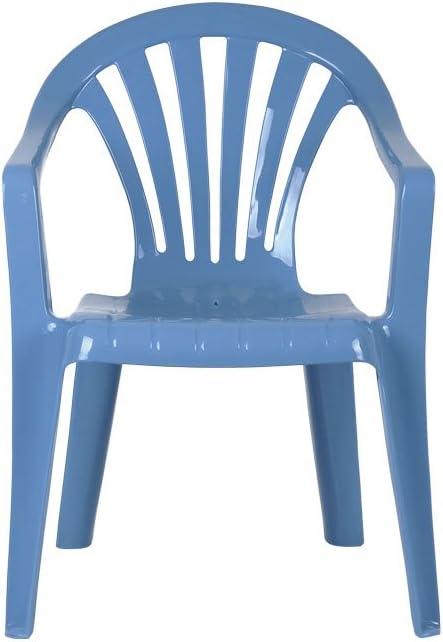 Cofan Chaise de Jardin pour Enfants Bleu 255 x 295 x 490 mm