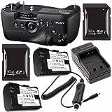 Sony Vertical Battery Grip Alpha A99 DSLR Camera + NP-FM500H Battery + External Charger + 16GB SDHC Card + 32GB SDHC Card Saver Bundle