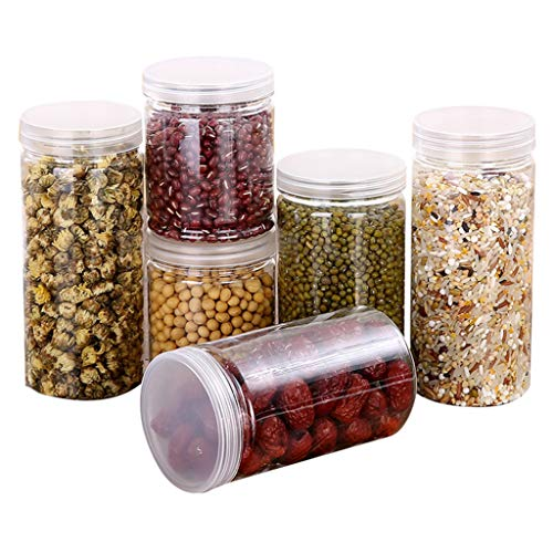 Quaanti Kitchen Storage Box Sealing Food Preservation Plastic Fresh Pot Container,Cereal Dispenser Storage Box Kitchen Food Grain Rice Container,Food Candy Grains Rice Organization (C)