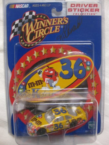 (SIGNED#36 2000 Ken Schrader Winner's Circle Yellow Car Driver Sticker Collection W/ Free Collector's Case)