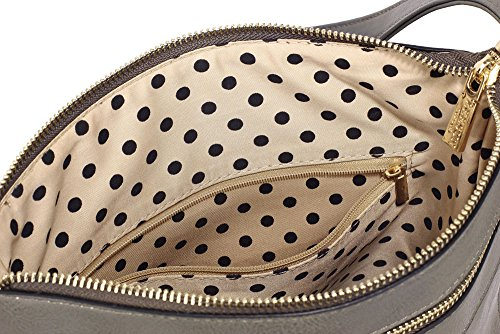 ANNA GRACE - Bolso cruzados de piel sintética para mujer Design 1 - Grey