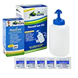 Dr. Natural Healing Nasalcare Nasal & Sinus Rinse Starter Kit, 50 Premium Mixed Packs Plus 30 Additional Mixed Packets