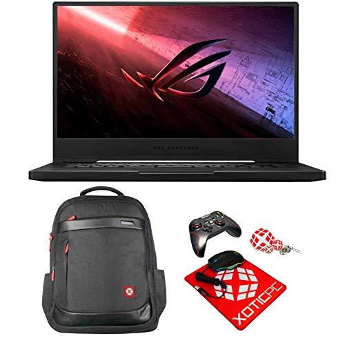 "ASUS Extreme ROG Zephyrus S15 15.6"" 300Hz FHD Intel Core i7 10th Gen 10875H (2.3 GHz) GeForce RTX 2080 Super MAX-Q 48GB Memory 2x1TB 970 PRO NVMe SSD Windows 10 Pro GX502LXS-XS79 Gaming Laptop"