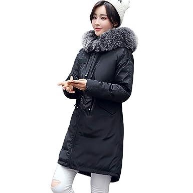 Amazon Com Uonqd Women Outerwear Cotton Padded Jackets Pocket Fur