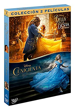Pack: Cenicienta Imagen Real + La Bella Y La Bestia Beauty & The Beast DVD: Amazon.es: Varios, Varios, Varios: Cine y Series TV