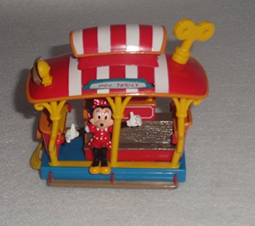 Disney Mickey and Minnie Jolly Trolley Toontown Toy - Disney Exclusive & Limited Availability - Exclusive Trolley