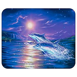Amazon com : Dolphin PC Office Mousepad Mouse Pad Mat g1023