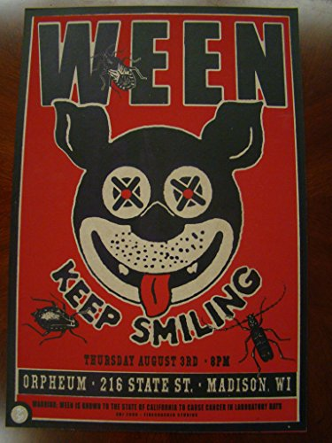 Ween Music Poster Ween Madison ()