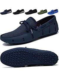Men's Driving Loafer Fashion Slipper Casual Slip On Loafers Boat Shoes Beach, Pool,City All Around Comfort