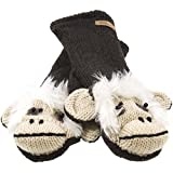 Old Glory - Unisex-adult Magus The Monkey Knit Mittens Brown