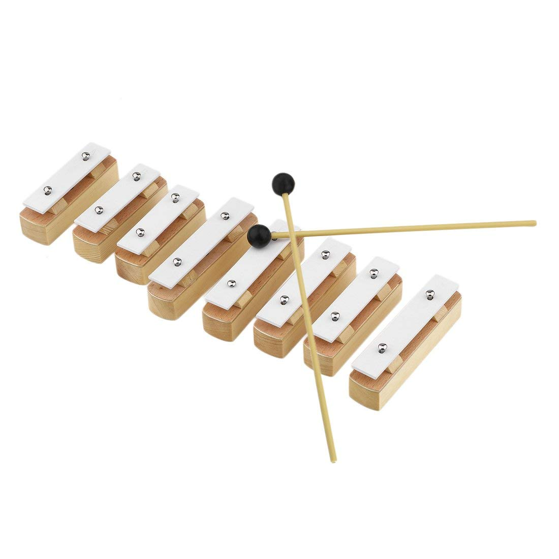 TB8A Special Design Aluminum Wooden Music Instrument 8 Notes Wooden Xylophone Early Childhood Wisdom Music Instrument Formulaone
