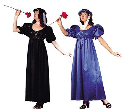 [RG Costumes 81229-BK Renaissance Madien Suede Costume - Black] (Bk King Costume)