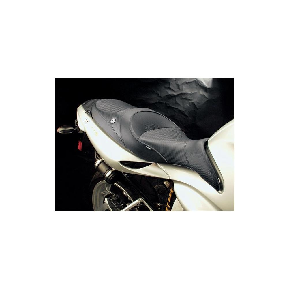 Sargent World Sport Seat Black With Black Accent for BMW R1100S 2001-2004
