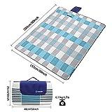 ZOMAKE Picnic Blanket Mat Waterproof Extra