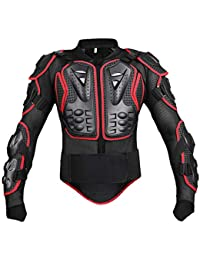 Motorcycle Full Body Armor Jacket Motocross Racing Spine Chest Protection Coat for Men and Women