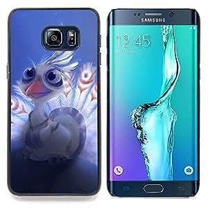 - Cute Baby Eagle - - Cubierta del caso de impacto con el patr??n Art Designs FOR Samsung Galaxy S6 Edge Plus Queen Pattern