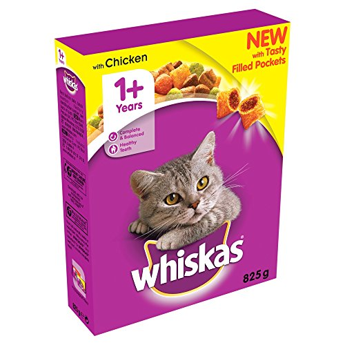 Whiskas Cat Complete Dry with Chicken 825g