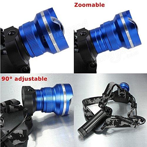 Bazaar T6 LED projecteur de phare vélo zoomable rechargeable