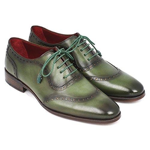 "Shoeslulu 20-59 ""Premium Runde gewachste Canvas Schnürsenkel Schnürsenkel Basilikumgrün"