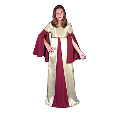 Traje medieval niña Belona: Amazon.es: Ropa y accesorios