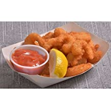 King and Prince Flying Jib Crunchy Popcorn Breaded Tail Off Shrimp, 2.5 Pound - 4 per case.