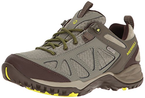 Merrell Women's Siren Sport Q2 Waterproof Hiking Shoe, Dusty Olive, 9 M US ()