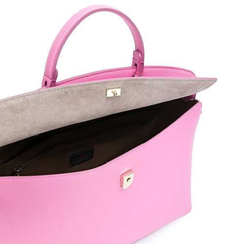 FURLA My Piper L Top Handle, Borsa Donna Orchidea D