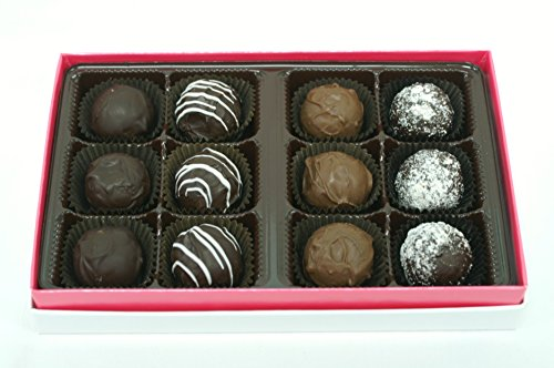 Sugar-free Chocolate Truffles, Dozen