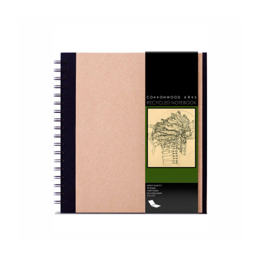 Cottonwood Arts Recycled Notebook by Cottonwood Arts