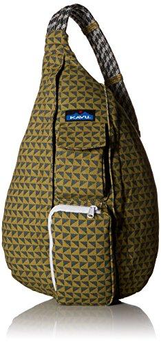 Shoulder Bag Rest - KAVU Rope Backpack, Pine Angle, One Size