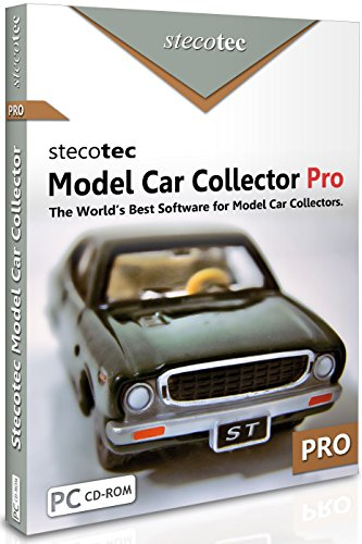 Collecting Software: Stecotec Model Car Collector Pro: Inventory Program for Your Diecast Collection - Models + Accessories - Suitable for Hot Wheels Matchbox Revell Autoart Maisto etc. Win XP/7/8/10 ()