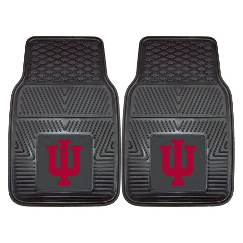 FANMATS NCAA Indiana University Hoosiers Vinyl Heavy Duty Car Mat]()