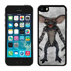 Beautiful And Unique Designed With Gremlin Creature Fangs Background Scratches For iPhone 5C Phone Case