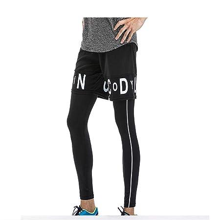 Komprimierte coole hose Pantalones de compresión para hombre ...