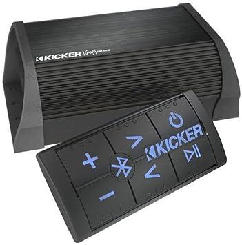 Kicker 40PXIBT502 2 canales portátil con Bluetooth amplificador de Kicker