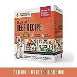 Honest Kitchen Human Grade Dehydrated Grain Free Beef Dog Food 2 lb - Love