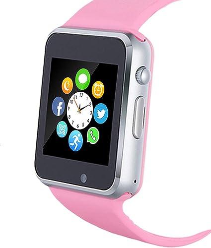 Amazon.com: Reloj inteligente, reloj inteligente con ranura ...