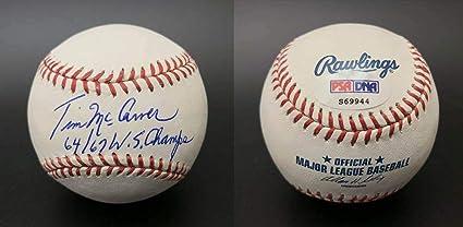 Sports Mem, Cards & Fan Shop Carlos Martinez Signed Auto Autographed ROMLB Baseball JSA COA Cardinals Balls