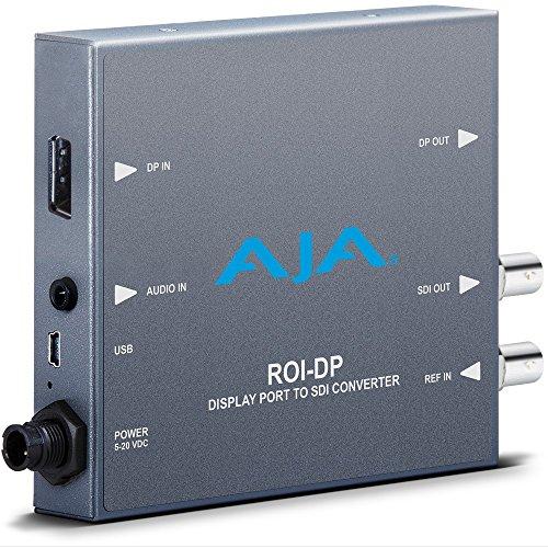 Aja Sdi Converter (AJA ROI-DP Display Port to 3G-SDI Mini Converter with Region of Interest (ROI) Scaling)