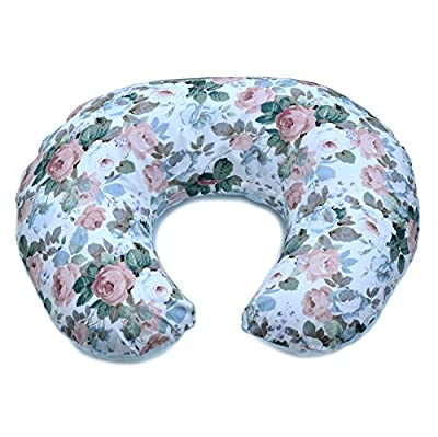 Nursing Pillow Slipcover | Breastfeeding Pillow Cover | Reversible Sides - Minky and Cotton | Made in USA