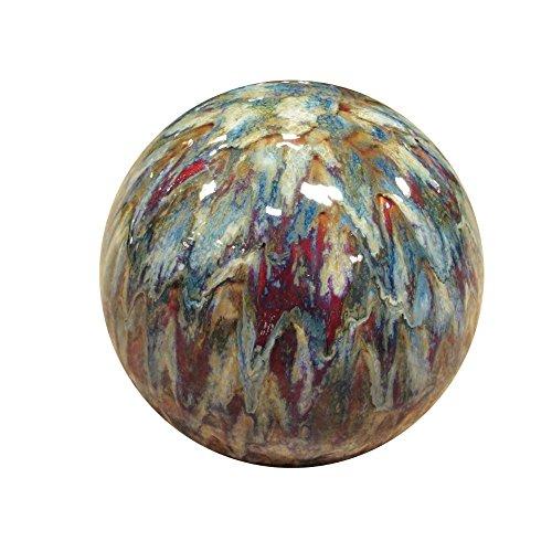 Alpine TOM252 Ceramic Gazing Globe, Tall Color, 10