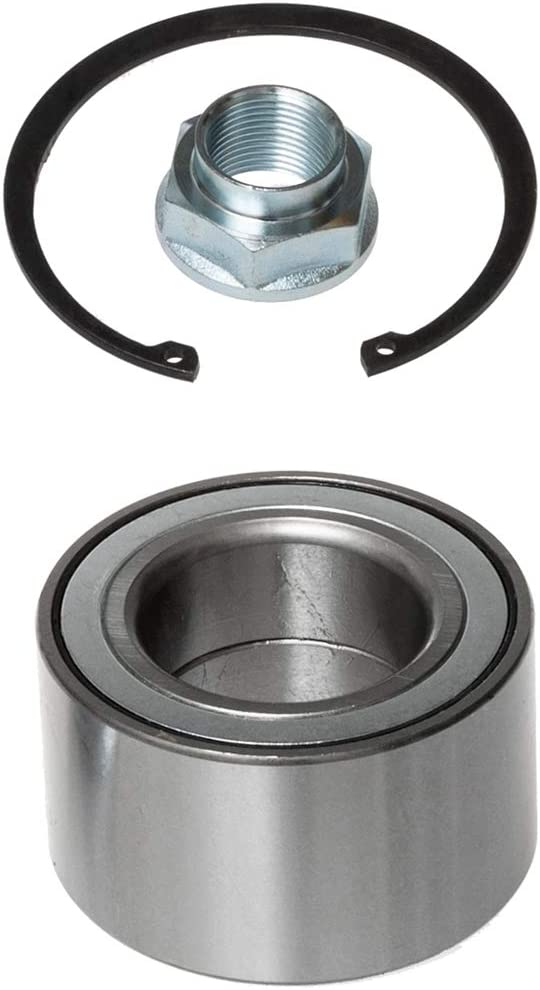 Front Wheel Hub and Bearing Compatible With 1992-2003 Lexus ES300 99-03 RX300 95-04 Toyota Avalon 92-03 Camry 98-03 Sienna 99-03 Solara AUQDD 518509 5 Lug Hub Repair Kit
